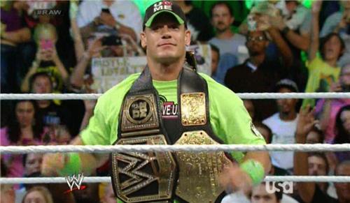 World Heavyweight Champion John Cena Should title belts be ...